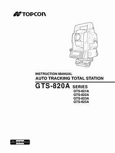 Topcon Total Station Es Users Manual