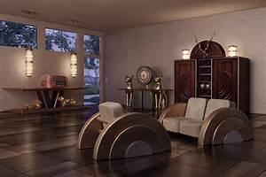 Art Deco Stil : interieur im art deco stil art deco interieur stimmung 3d ~ A.2002-acura-tl-radio.info Haus und Dekorationen