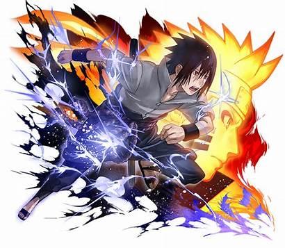 Naruto Sasuke Uchiha Blazing Uzumaki Deviantart Render