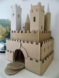 Spielzeug Für Jungs 94 : diy cardbox castle ritterburg aus pappe basteln mit kindern pinterest ritterburg basteln ~ Orissabook.com Haus und Dekorationen