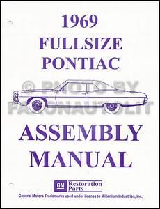 1969 Pontiac Sales Brochure Original