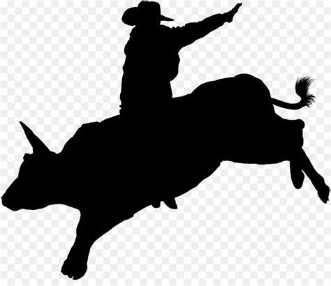 bucking bull silhouette   clip art