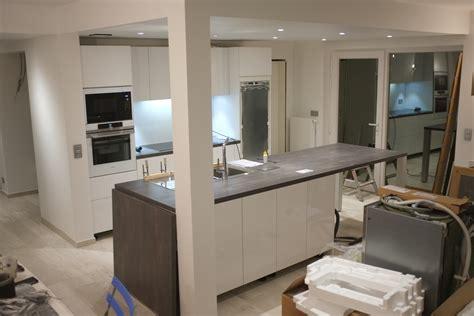 construire ilot cuisine creer ilot central photos de conception de maison