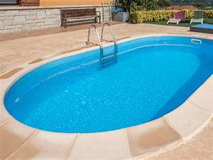 Piscine En Kit Enterrée : piscine enterr e en kit gr madagascar ovale taille au choix ~ Melissatoandfro.com Idées de Décoration