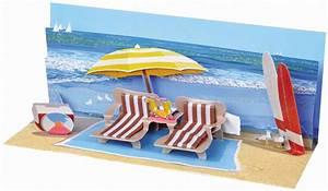 Pop Up Karte : pop up geburtstag karte 3d badeurlaub panorama 10x23 cm 506949 ~ Markanthonyermac.com Haus und Dekorationen