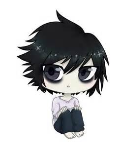 Anime Death Note L Chibi