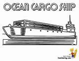 Ship Cargo Coloring Sheet Ocean Ships Colouring Deep Tanker Printables Yescoloring Mega Seas Boats Dock sketch template