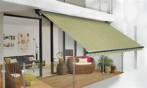 balkon markise ohne bohren sonnensegel balkon With markise balkon mit schwarz grau gestreifte tapete