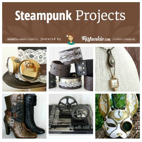 14 Diy Steampunk Projects [costume, Jewelry, Decor]