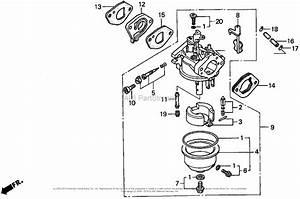 Honda Hrm195 Pa Lawn Mower  Usa  Vin  Mzbv