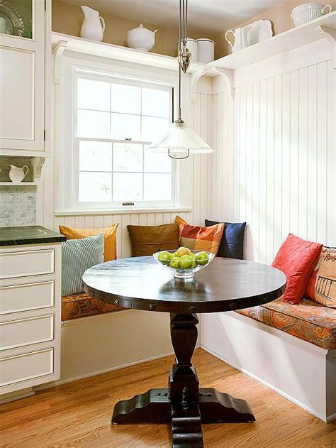 space savvy banquettes   decorating dining room banquette kitchen banquette kitchen