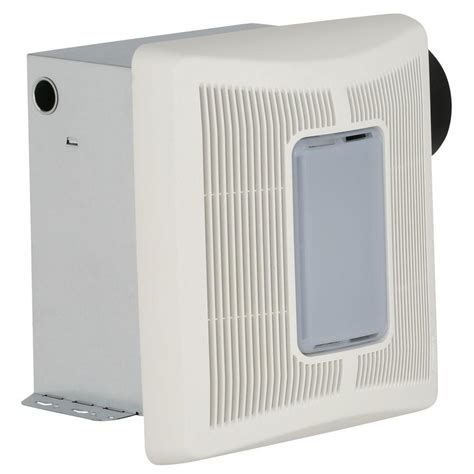 bathroom exhaust fan with light home depot broan invent white 50 cfm ceiling single speed exhaust
