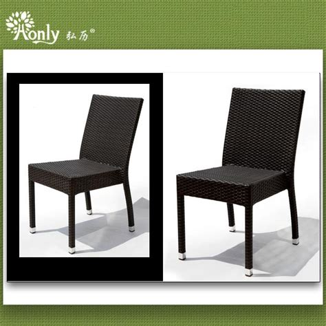 stackable aluminum rattan dining room chairs manufacturers