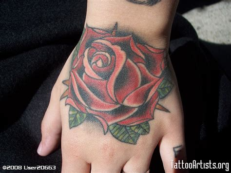 hand tattoo images designs