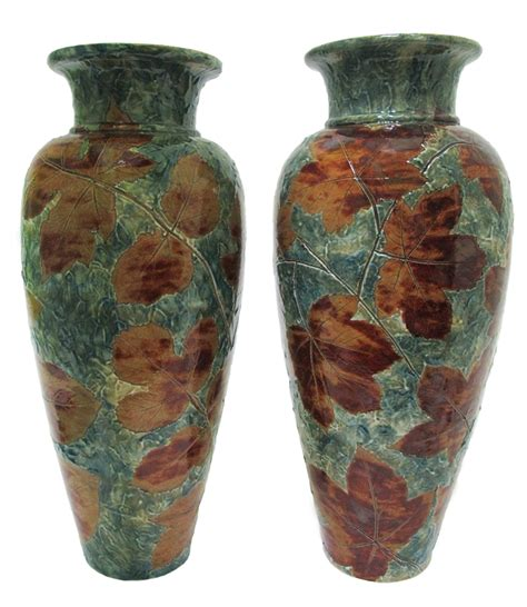 Large Vases For Sale by Pair Of Large Doulton Lambeth Vases For Sale Antiques
