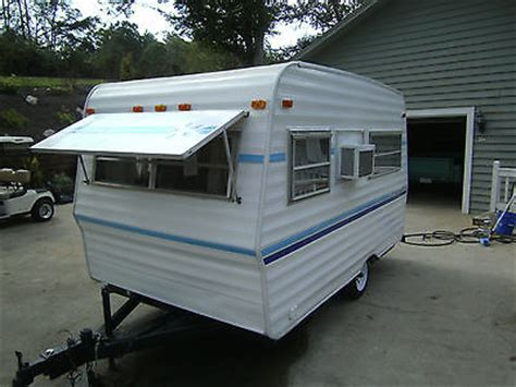 Small Vintage Camper Travel Trailer Towable Rv Remodeled