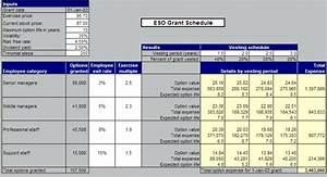 vesting employee stock options uyesyniwebfc2com With vesting schedule template