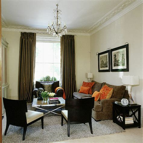 cream and brown living room decorating ideas ideal home