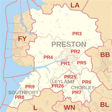 pr postcode area pr pr pr pr pr pr pr pr