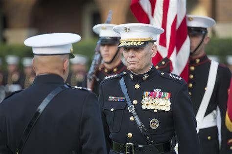 marine gen john paxton assistant commandant retires