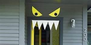 9 Easy Diy Halloween Door Decorations For This Month ~ Clipgoo