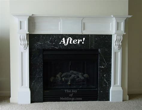 Fireplace Mantel With Corbels