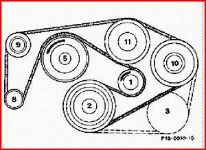 Diagram To Install Serpentine Belt 1987 Mercedes Benz S