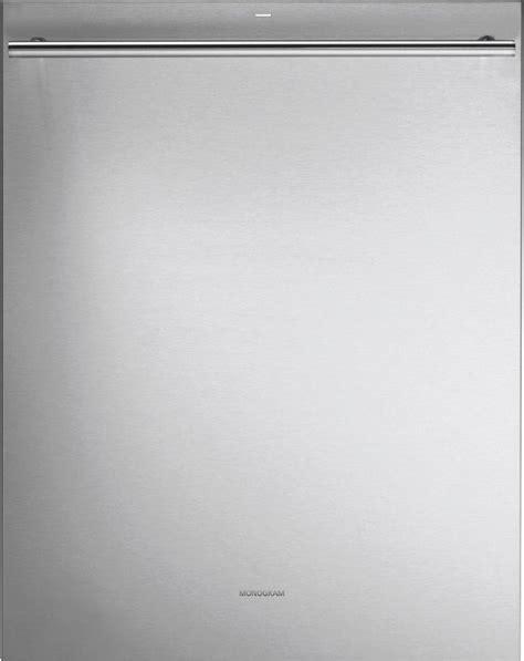 monogram  fully integrated dishwasher stainless steel zdtssjss integrated dishwasher