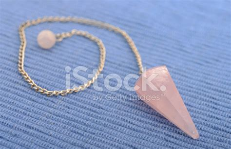 New Age Crystal Pendulum Stock Photos