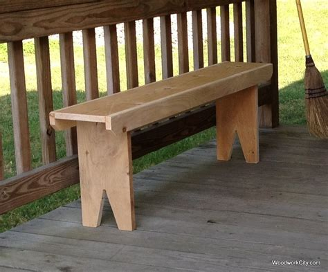 simple bench plans woodwork city  woodworking plans