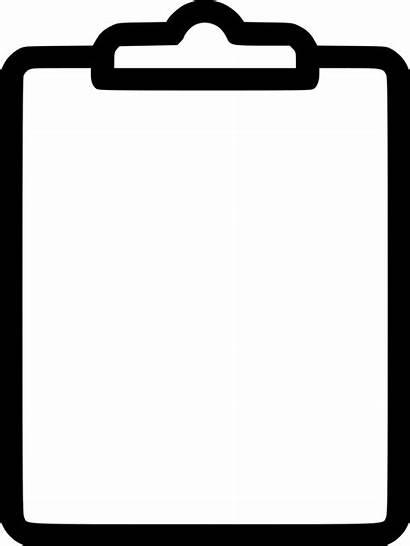 Clipboard Clipart Transparent Svg Clip Board Icon