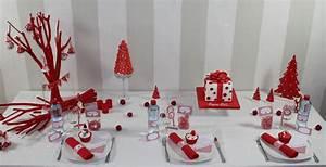 Deco De Table Pour Noel