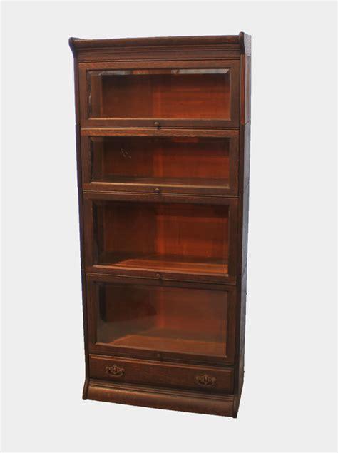bargain johns antiques antique corner oak bookcase