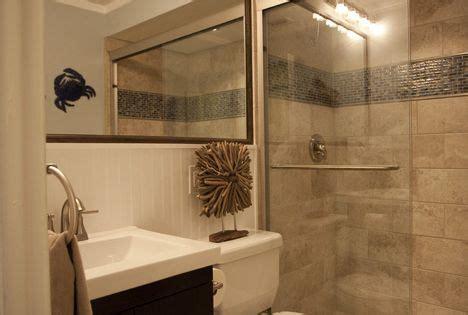 small bath ideas love  large mirror   sink