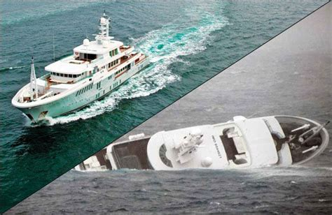 super yacht sinking yogi mert real ship emergencies