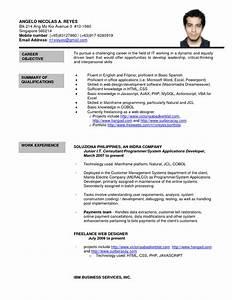 formal letter sample sample resume format best template With formal resume template