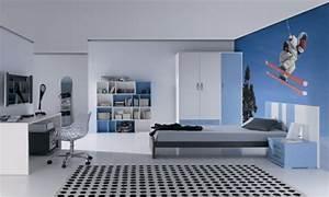Deco Chambre Ado Garcon : deco chambre ado garcon sport visuel 6 ~ Teatrodelosmanantiales.com Idées de Décoration