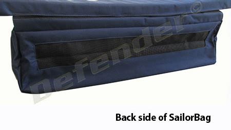 Sailorbags Canvas Inflatable Boat Underseat Storage Bag by Defender Inflatable Boat Underseat Storage Bag By