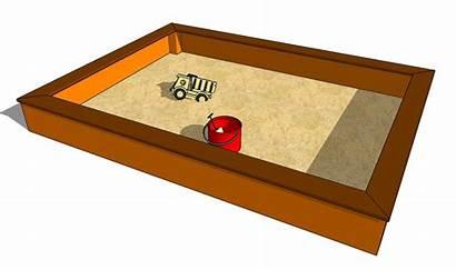 Sandbox Build Clipart Sandpit Howtospecialist Cliparts Plans