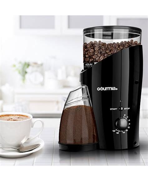 Burr coffee grinder electric which deliver different mechanisms for varying grind sizes. Gourmia GCG185 Electric Cone Burr Coffee Grinder & Reviews - Coffee Makers - Kitchen - Macy's
