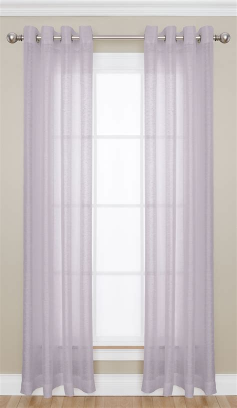 sears semi sheer curtains colormate adalia grommet top semi sheer window panel