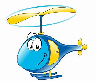 Air Clipart Transportation Helicopter Cartoon Transparent Transport