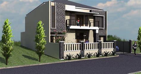 desain eksterior rumah batu alam