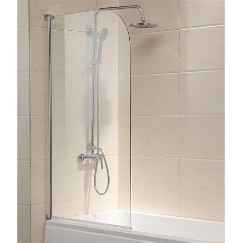 frameless shower doors tub 55 quot x31 quot bath shower door 1 4 quot clear glass pivot radius