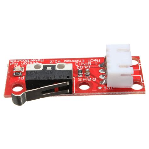 printer mechanical endstop switch for reprap rs 75 rs 1 4 endstop switch for reprap mendel 3d printer with 3d