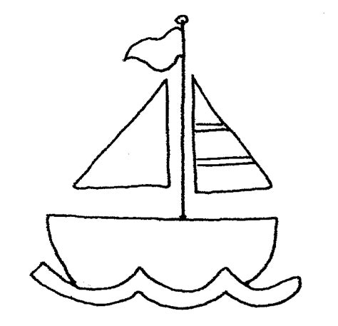 Boat Clipart Black And White Free by Sailboat Clipart Black And White Clipart Panda Free