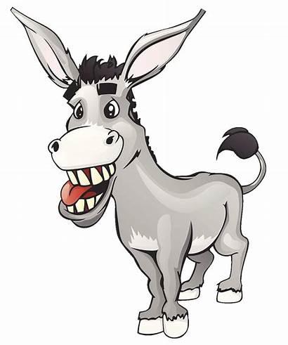 Donkey Clipart Santa Claus Grey Clip Dominick
