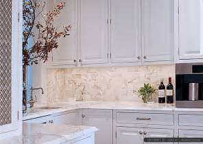 limestone backsplash kitchen calacatta gold subway tile and countertop ideas