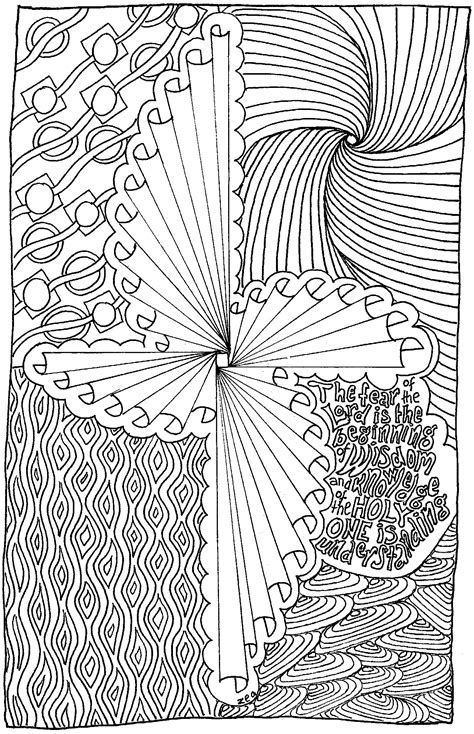 adult colouring book   christian theme lets talk life