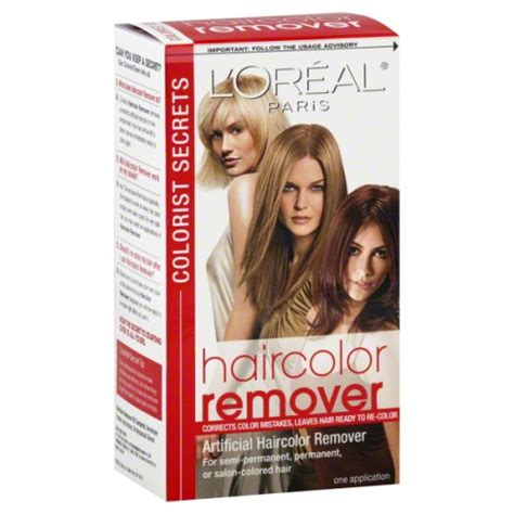 loreal hair color remover l oreal colorist secrets haircolor remover
